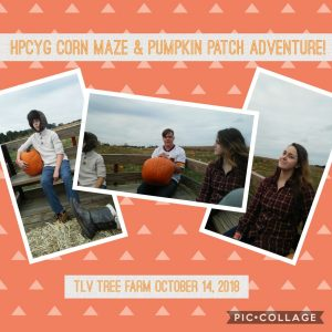 Fun at the pumpkin patch with youth group